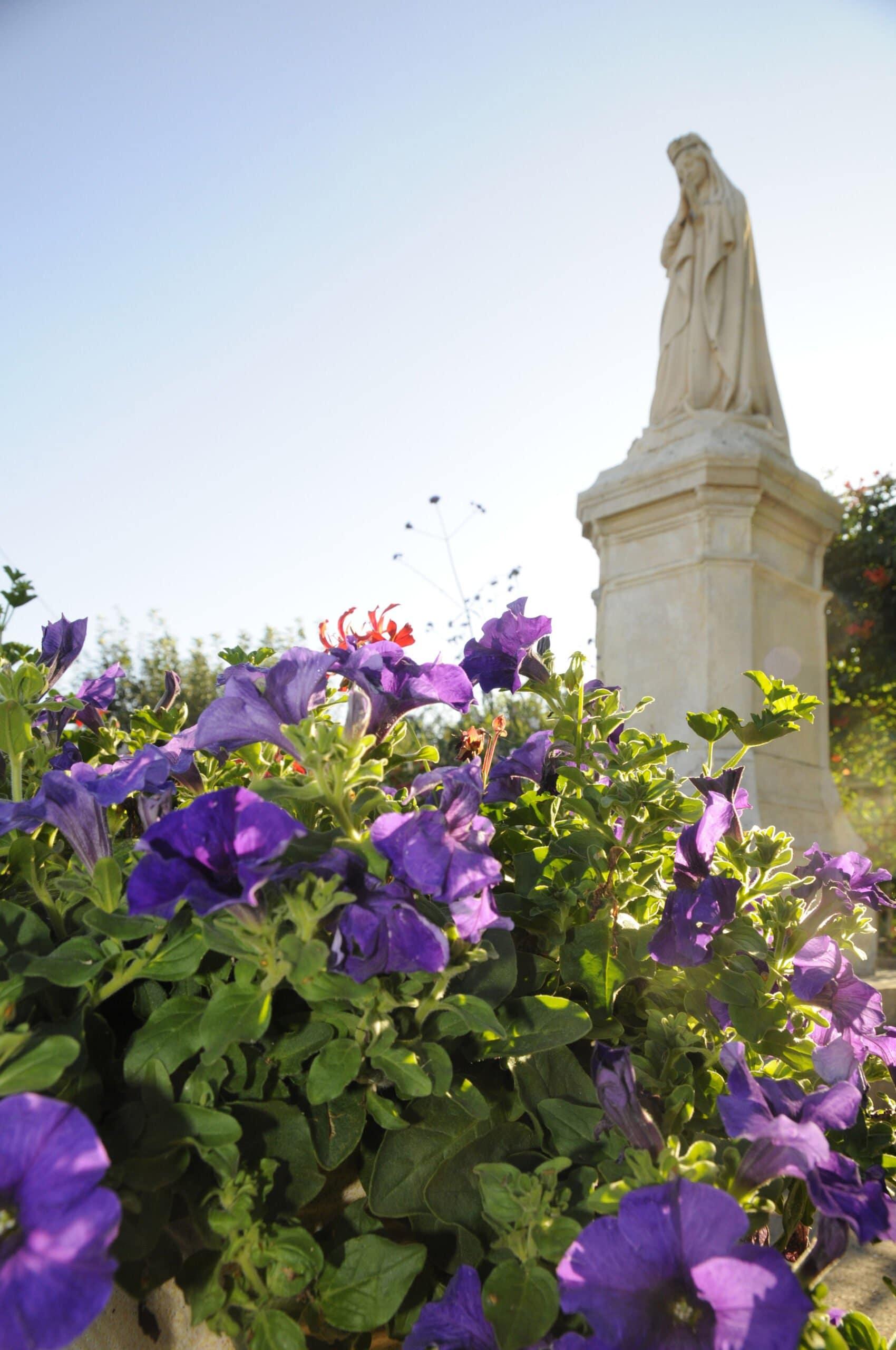 fleurs et madone 01