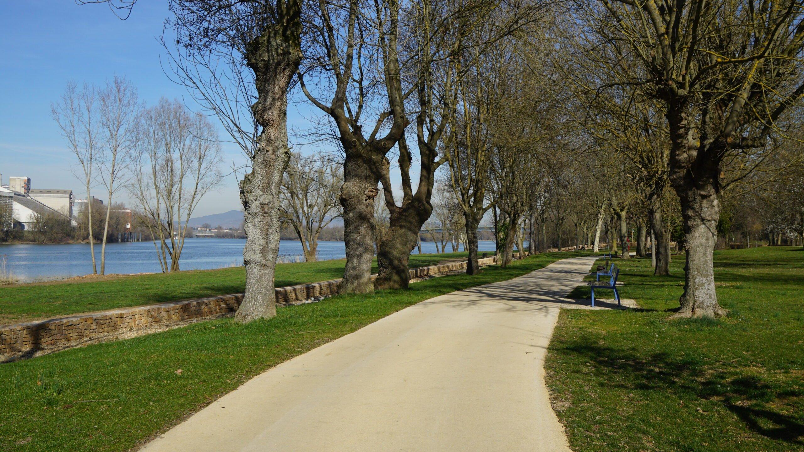 Nouveau cheminement parc loisirs