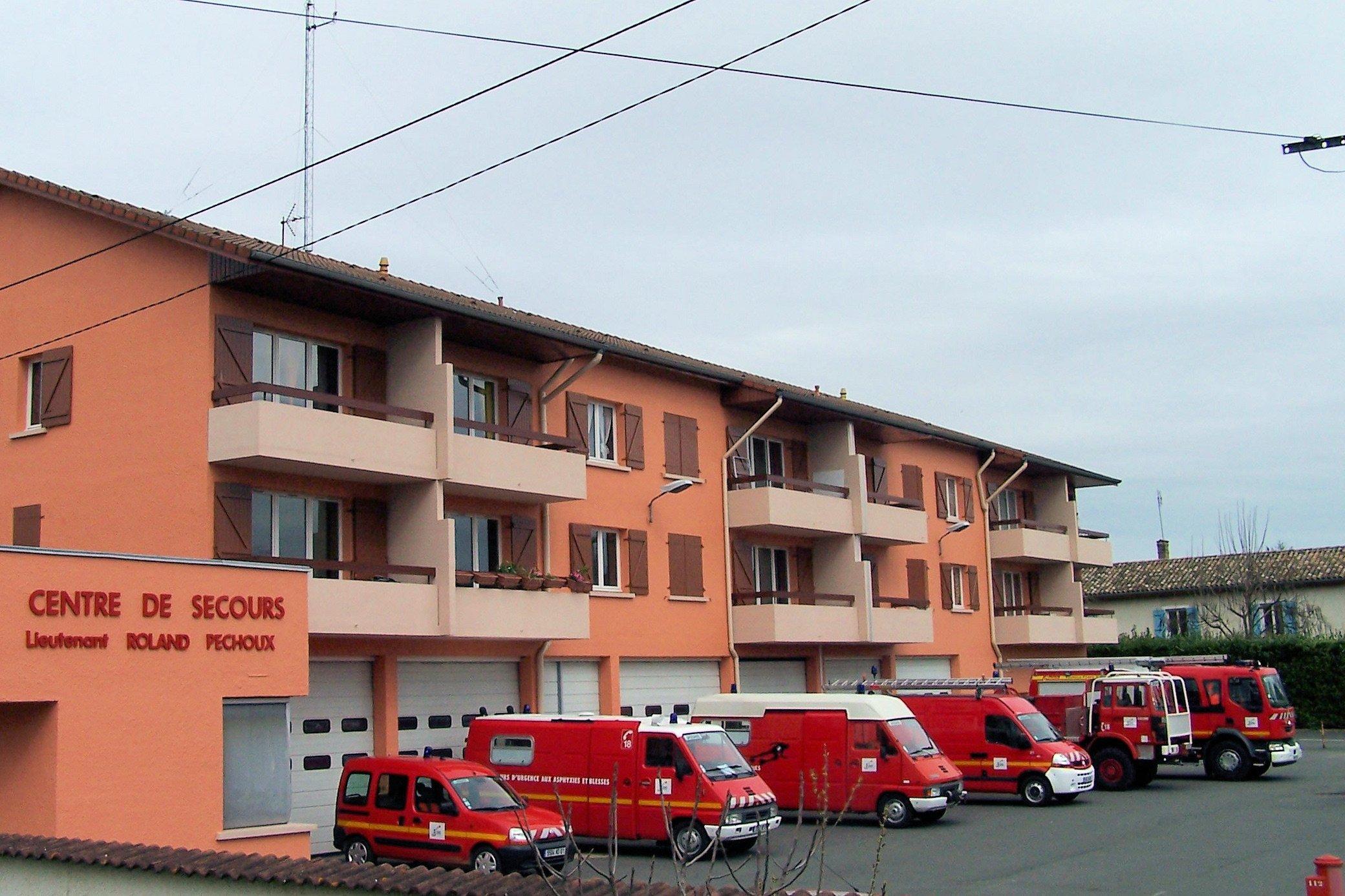 centre de secours Roland Péchoux
