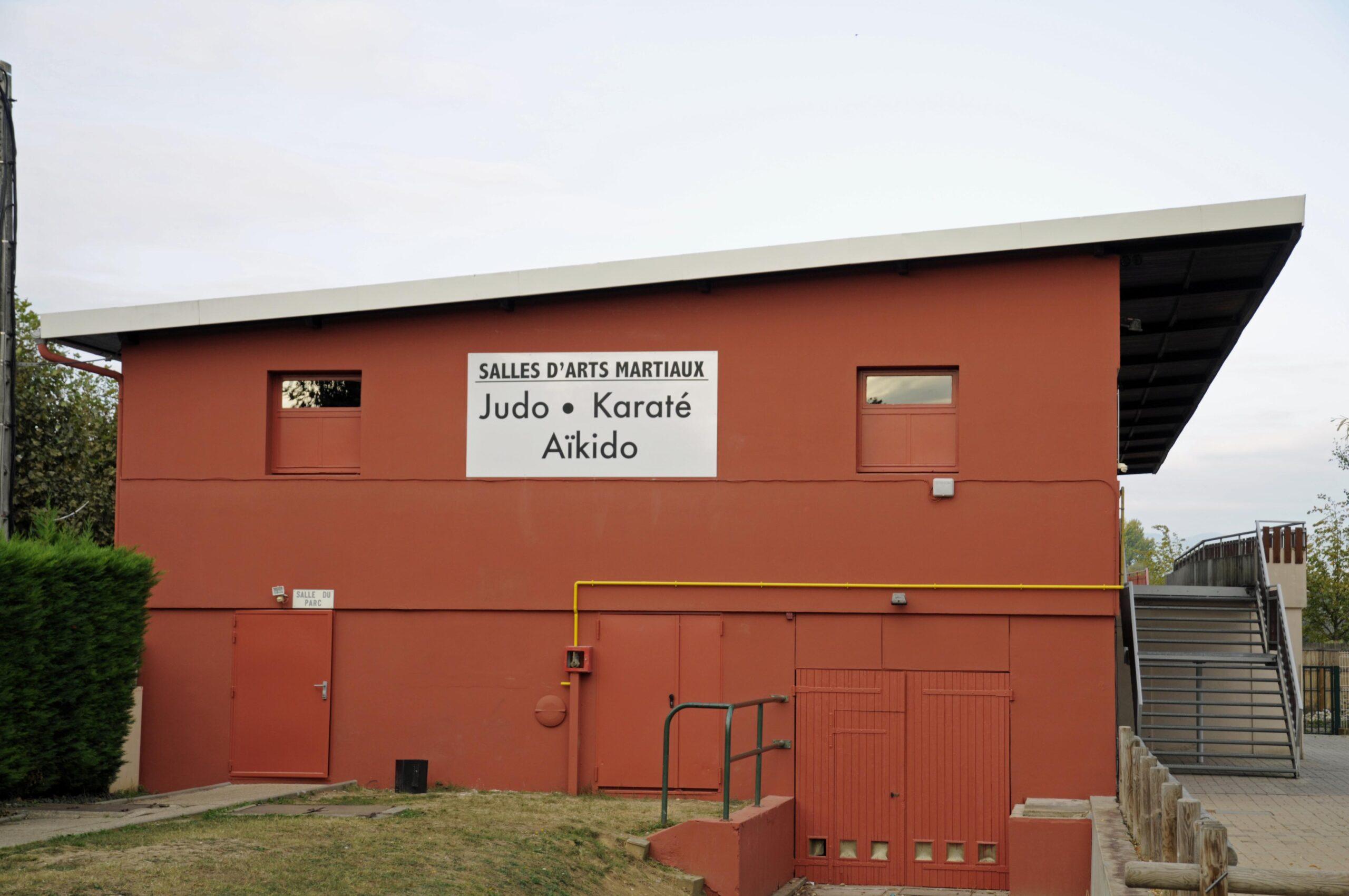 Salle d'art martiaux
